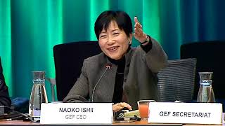 57th GEF Council Day 1 - CSO Session - Dec 16, 2019 AM Session