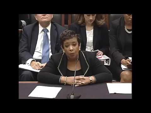 Rep. Gowdy Questions Attorney General Loretta Lynch
