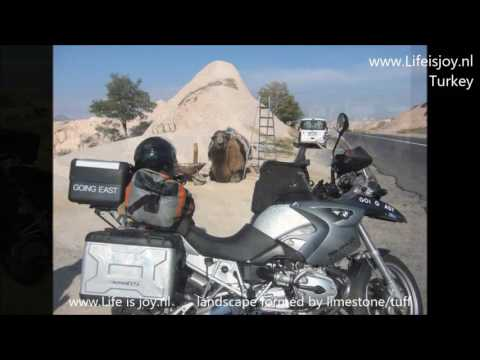 1 hour motorcycling through Middle East Turkey Iran Pakistan India Nepal Egypt Dubai