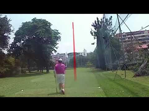 2nd Hole ZZ Tee Shot Asia Pattaya Golf Course Thailand