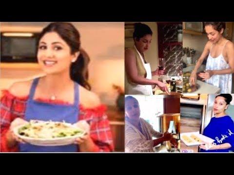 Bollywood Actress COOKING For Family During Lockdown FULL Video- Priyanka, Malaika, Katrina, Vidya