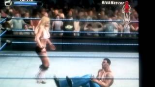SvR 2008 GamePlay Torrie Wilson vs. RickMaster5000