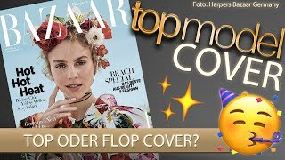 GNTM 2019 COVER von Simone TOP oder FLOP? | Harpers Bazaar