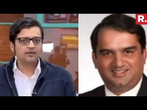 Arnab Goswami Speaks To Prof PK Basu On Confronting Rahul Gandhi