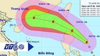 Bão số 2 tiến vào Biển Đông, gió giật cấp 12   VTC