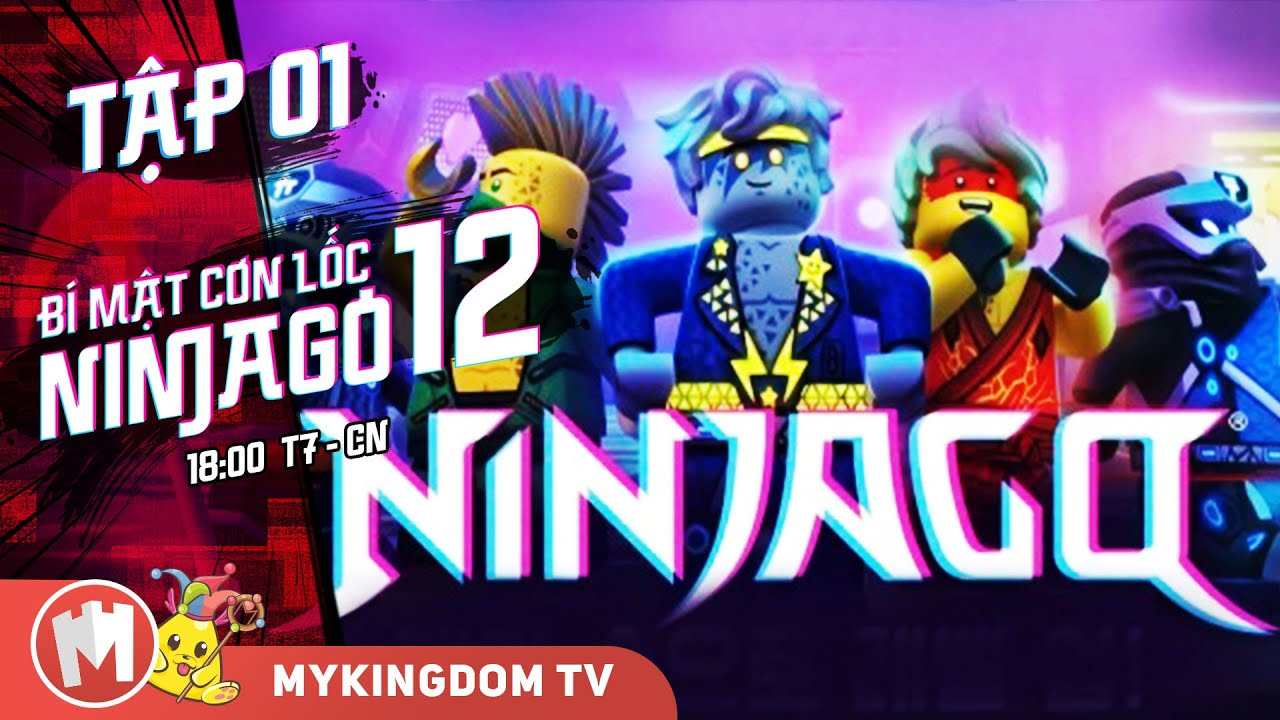 BÍ MẬT CƠN LỐC NINJAGO - Phần 12 | Tập 01: Bạn Có Muốn Chơi Trò Đế Chế Không  - Phim Ninjago