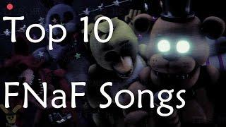top 10 fnaf songs five nights at freddys