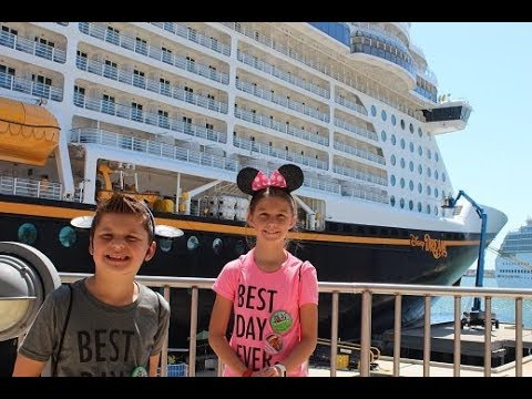 Disney Dream first ever cruise ship experience. Embarkation day adventures.