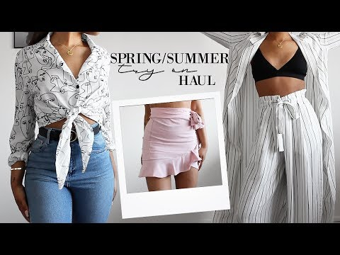 Spring/Summer Try On Clothing Haul