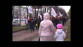 Марш миллионов: антипутинское шествие в Кемерове 6.05.12