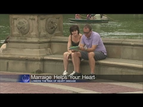 Study: Marriage helps your heart
