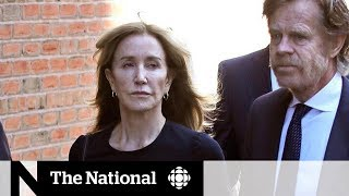 Actress Felicity Huffman sentenced to 14 days in prison in U.S. college scandal
