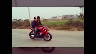 Pulsar RS200 Stoppie