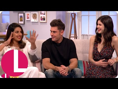 Baywatch Star Zac Efron Couldn't Lift the Rock's Weights! | Lorraine