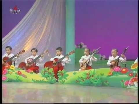 """[Guitar, Oungum] """"A Goat"""" (Segori Kindergarten) {DPRK Music}"""