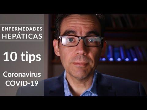 COVID-19 y enfermedades hepáticas: 10 consejos
