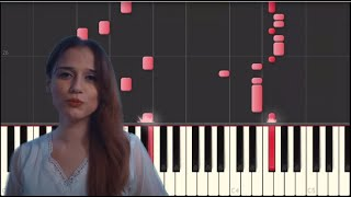 Zehra | Cennetten Çiçek | Easy Piano by Lotfy زهرة من الجنة
