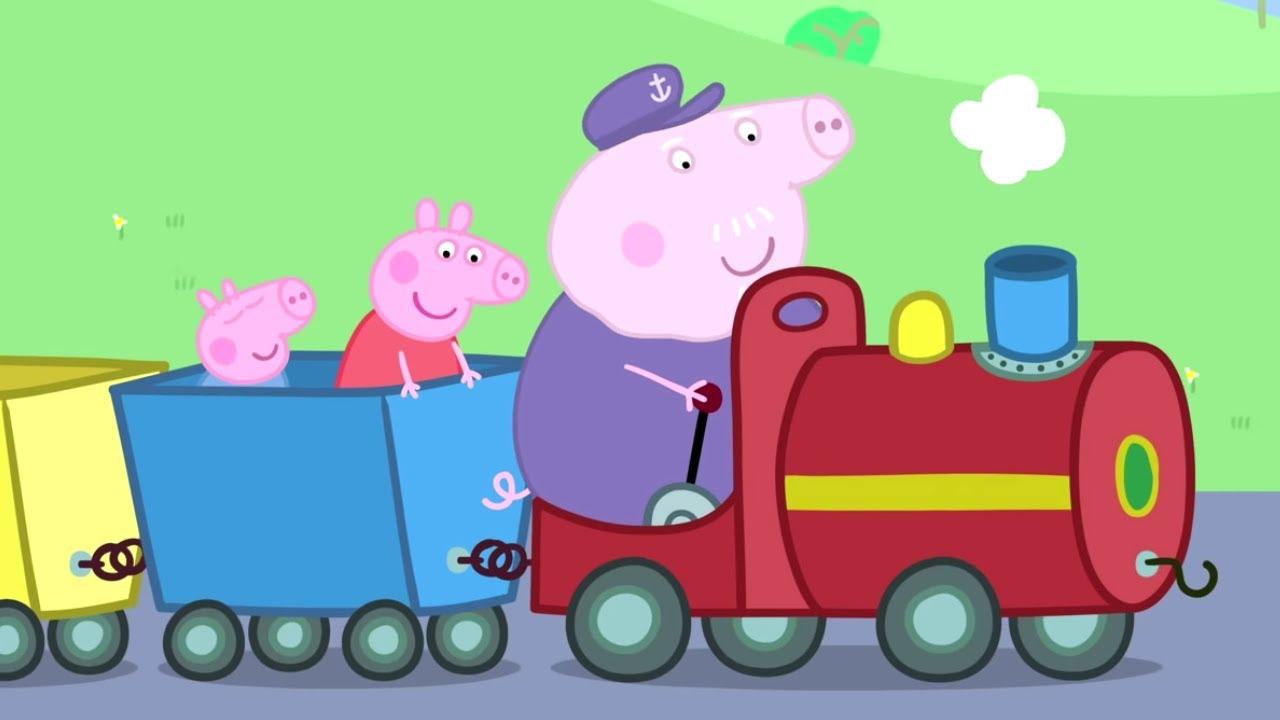 O TREM DO VOVÔ PIG | Peppa Pig Português Brasil | Desenhos Animados