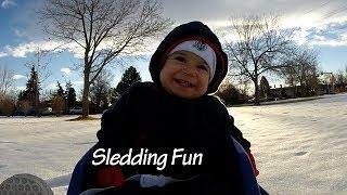 Toddler Sled - Toddler Sledding
