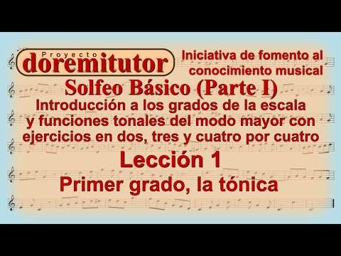 Clases de solfeo para principiantes 1 | Aprenda a leer partituras musicales