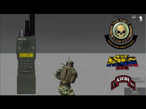 Arma 3 Colombia - Tutorial Radios (Task Force Radio)