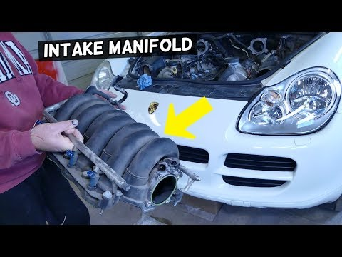 HOW TO REMOVE OR REPLACE INTAKE MANIFOLD ON PORSCHE CAYENNE