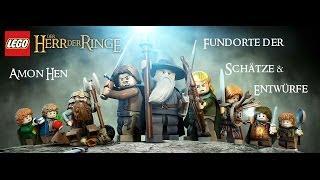 Lego Herr der Ringe: Schätze und Entwürfe Guide - Amon Hen