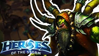 Heroes of the Storm (HotS) | HOW DID WE DO THAT?! | Gul'dan Gameplay ft. Sinvicta and Jesse Cox