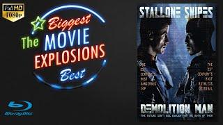 The Best Movie Explosions Demolition Man (1993) Phoenix's Hideout Blow Up
