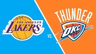 NBA 2K19 - Los Angeles Lakers vs Oklahoma City Thunder - Full Gameplay