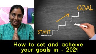 How to set and acheive your goals in – 2021 | Britain Tamil Broadcasting
