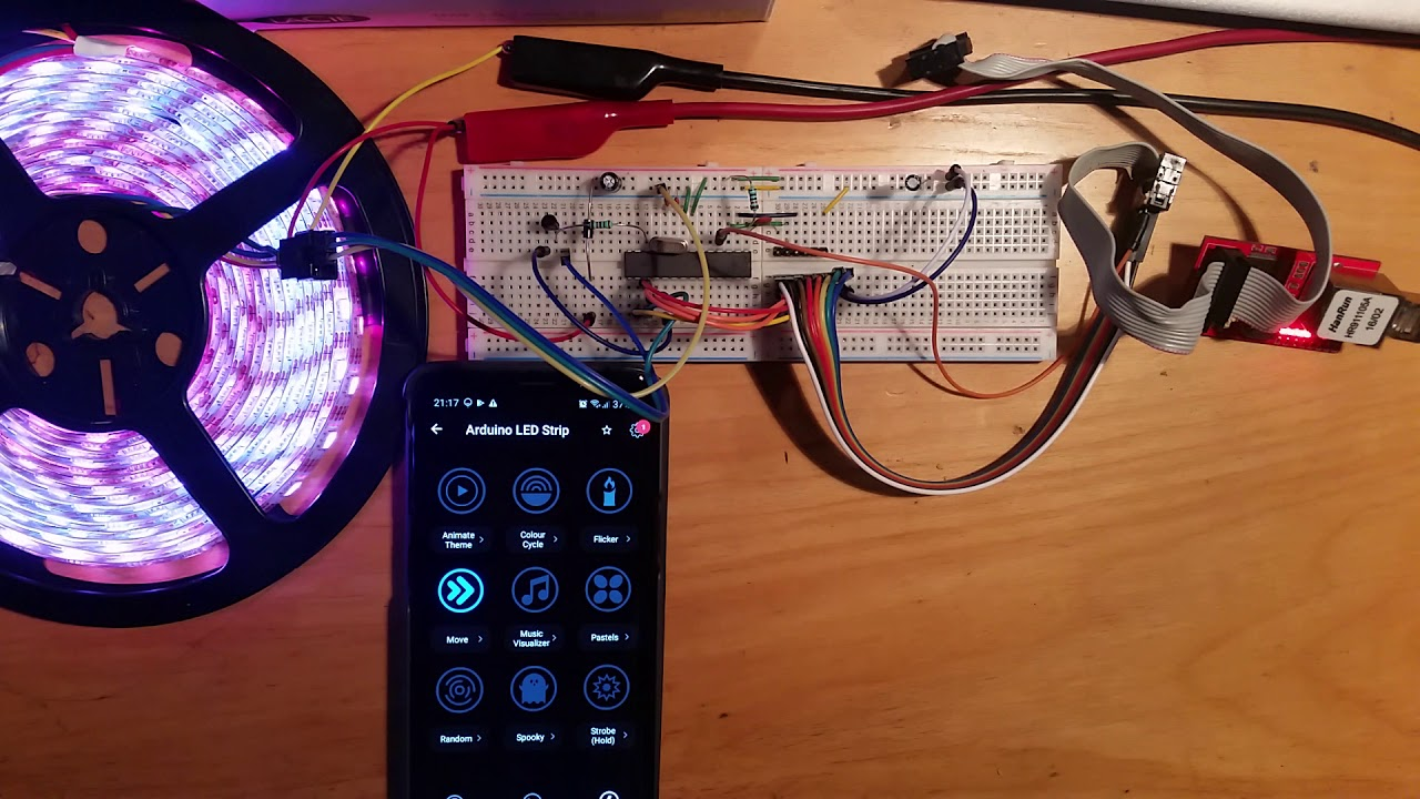 APA102 Leds controlled with Arduino and Lifx app (using zones)