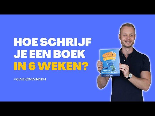 Hoe schrijf je (snel) een boek?