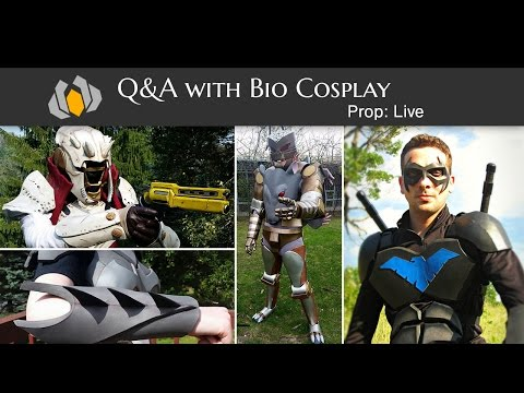Prop: Live - Q&A with Bio Cosplay - 9/11/2015