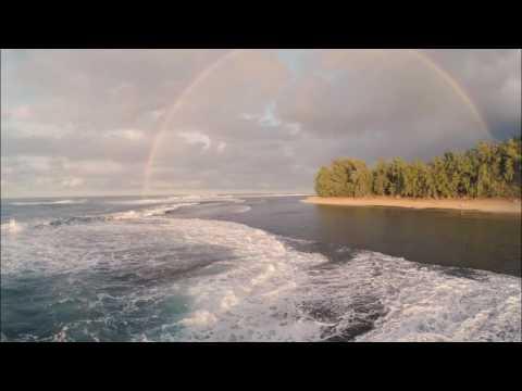 Ke'e Beach, Kauai  RainBow