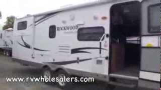2011 Rockwood Signature Ultra Lite 8317RKSS Travel Trailer Camper at RVWholesalers.com 835683