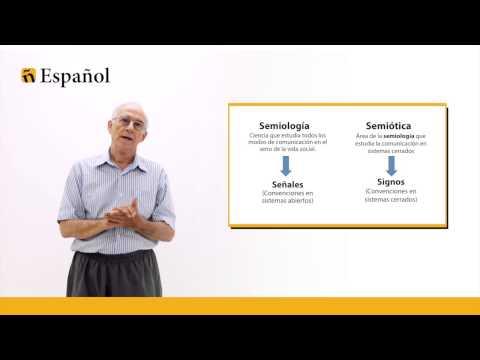 Semiología, Semiótica y Signo Lingüístico