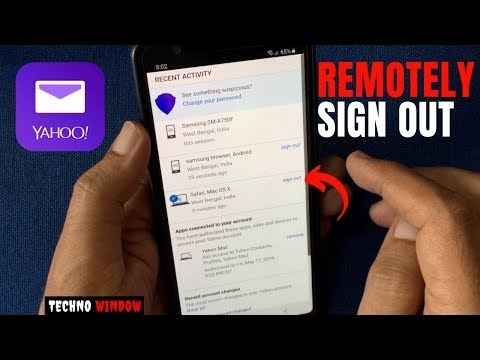 How To Remotely Sign Out Of Yahoo Mail