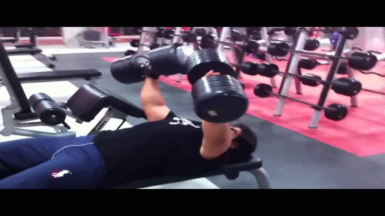 "me doing chest workout at fitness time Gym ""Khobar"" Saudi ..."