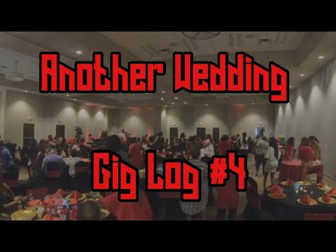 DJ Gig Log 4 | Another Wedding