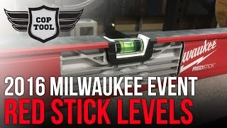 Milwaukee Red Stick Levels Going Right After Stabila Levels