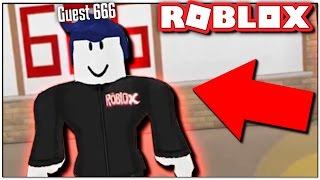GUEST 666 JOINED MY GAME!! | ROBLOX