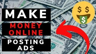 🤑how to make money online posting ads ...