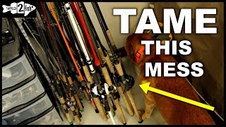 How to Efficiently Store, Organize and Protect Your Fishing Rods