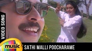 Sathi Malli Poocharame Song | Azhagan Movie | Mammootty | Bhanupriya | K Balachander | Maragathamani