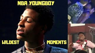 NBA YoungBoy Wildest Moments Caught On Video (2018)