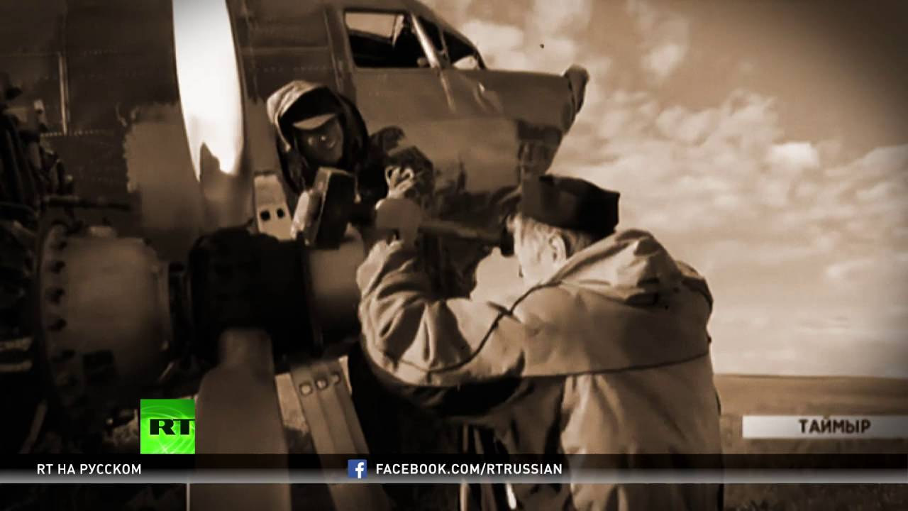 Простоявший 70 лет в тундре самолет С-47 «Дуглас» доставили в Красноярск