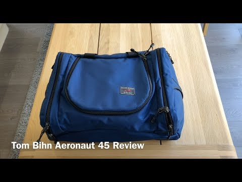 In Use. In The Real World - Tom Bihn Aeronaut 45 Review