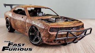 Restoration Fast & Furious Letty's Dodge Challenger Muscle Car
