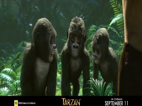 Tarzan  TV Spot Wildest 2014  Kellan Lutz, Spencer Locke HD